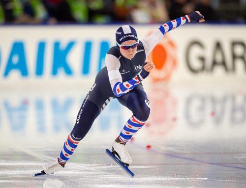 Schaatsster Dione Voskamp: volwaardig topsporter, nu nog inkomen